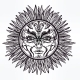 Pagan Sun Symbol