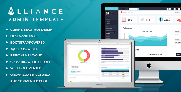 Alliance - Responsive Bootstrap Admin Template