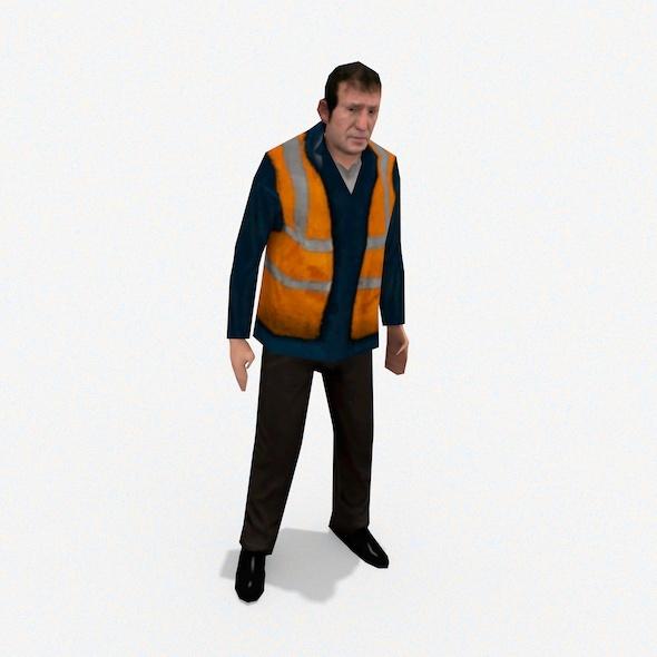 Workman - 3DOcean Item for Sale