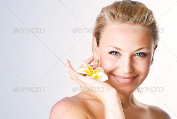 PhotoDune Beautiful Spa Woman Face 1397858