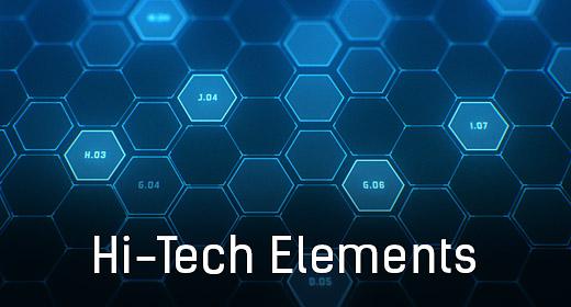 Hi-Tech Interface Elements