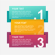 Colorful Infographics Options Banner. Vector