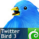 Twitter Bird 3 - GraphicRiver Item for Sale