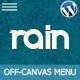 Rain - Responsive Off-Canvas WordPress Menu - CodeCanyon Item for Sale