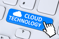Cloud computing technology storage online digital on internet