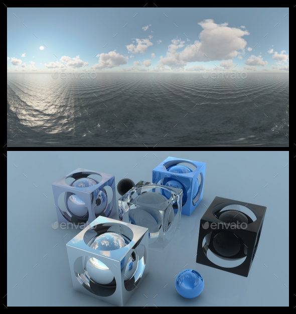 Ocean Bright Day 7 - HDRI - 3DOcean Item for Sale