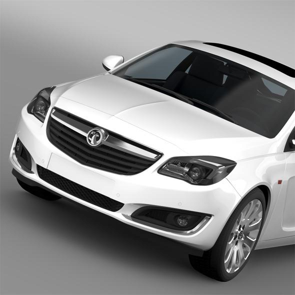 Vauxhall Insignia Hatchback ECOFlex 2015 - 3DOcean Item for Sale