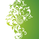 Green floral background - GraphicRiver Item for Sale