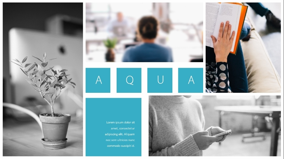 Aqua Powerpoint Template Preview Graphicriver