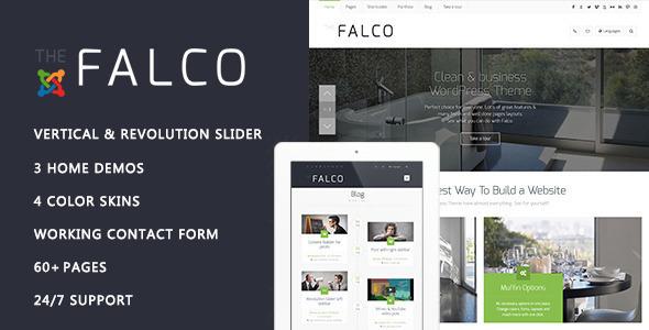 Image of Falco - Responsive Multi-Purpose Joomla Theme