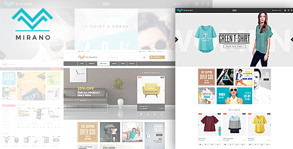 Mirano - Responsive eCommerce HTML5 Template