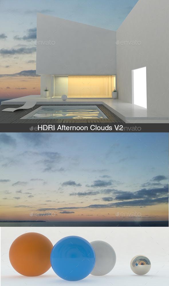 3DOcean Afternoon Clouds V2 14019978