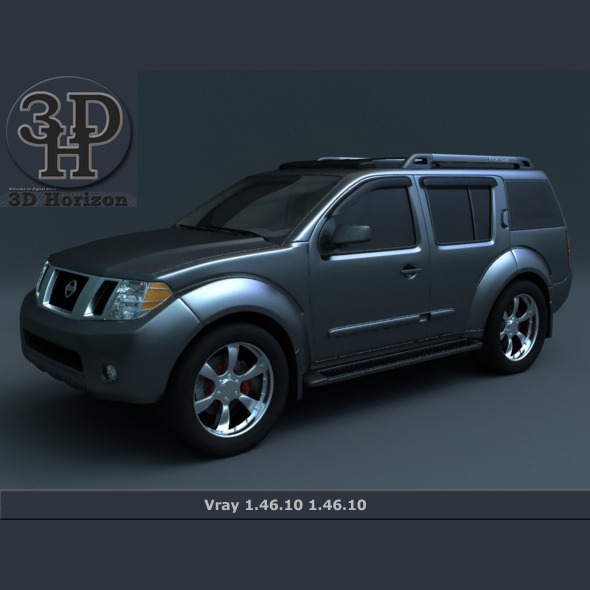 3DOcean Nissan Pathfinder 2011 2012 1399361