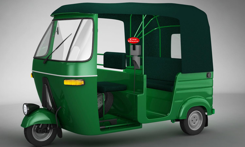 Bajaj Auto Rickshaw By 3dhorizon 3docean