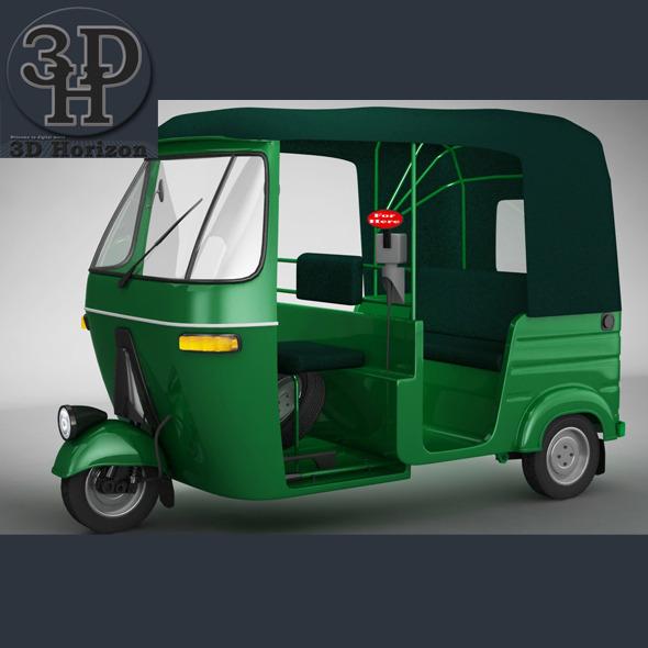 3DOcean Bajaj Auto Rickshaw 1399544