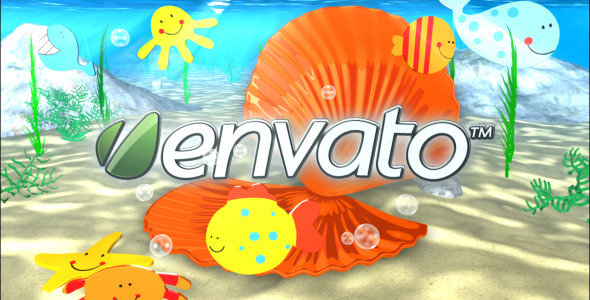 After Effects Project - VideoHive Underwater Logo Reveal 1399920