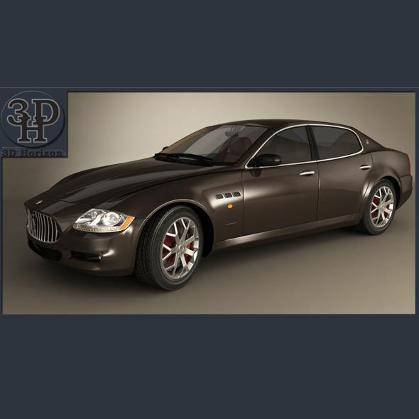 Maserati Quattroporte 2012 - 3DOcean Item for Sale