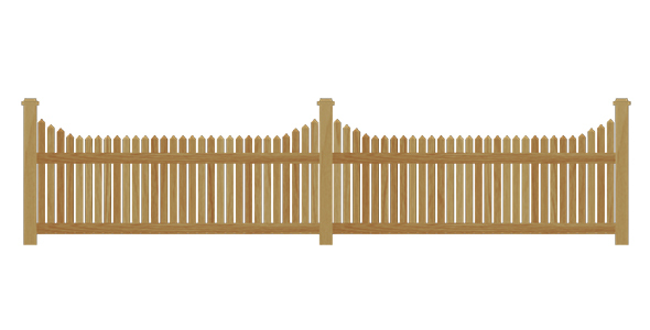 3DOcean Wooden fence 14023845