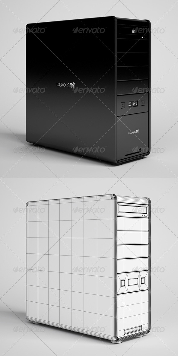3DOcean CGAxis Desktop Computer Electronics 21 166337