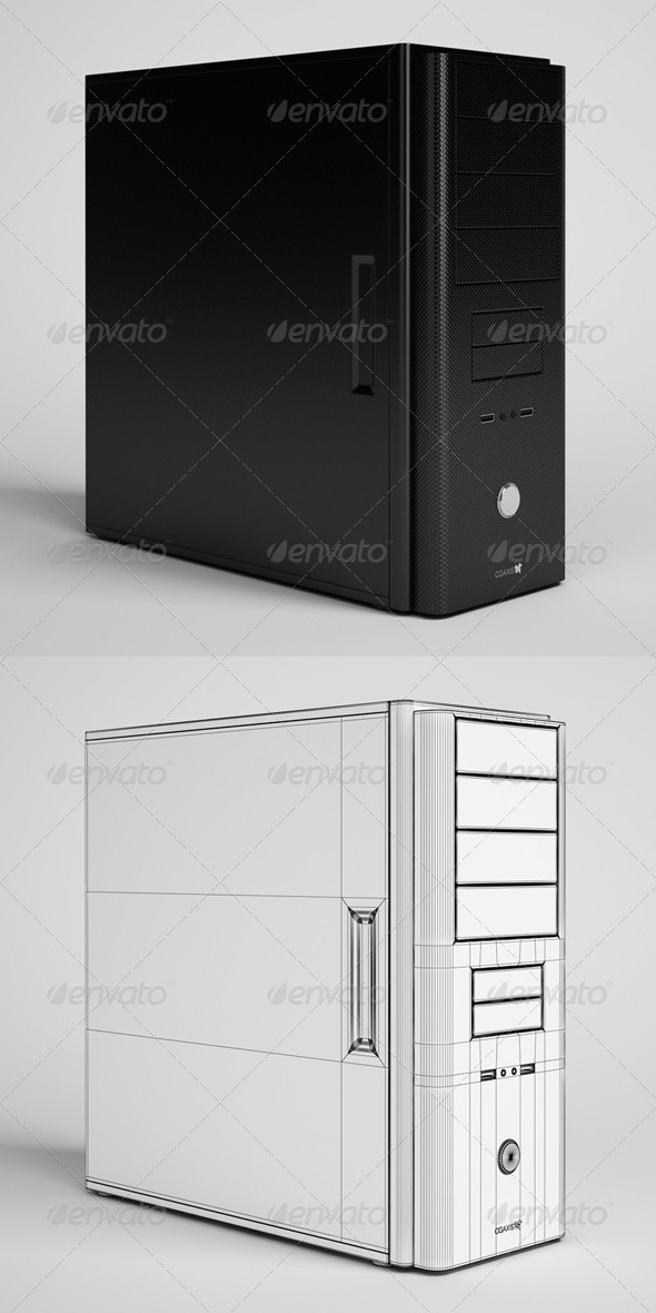 3DOcean CGAxis Desktop Computer Electronics 22 166338