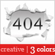 Creative 404 Error Page - ThemeForest Item for Sale