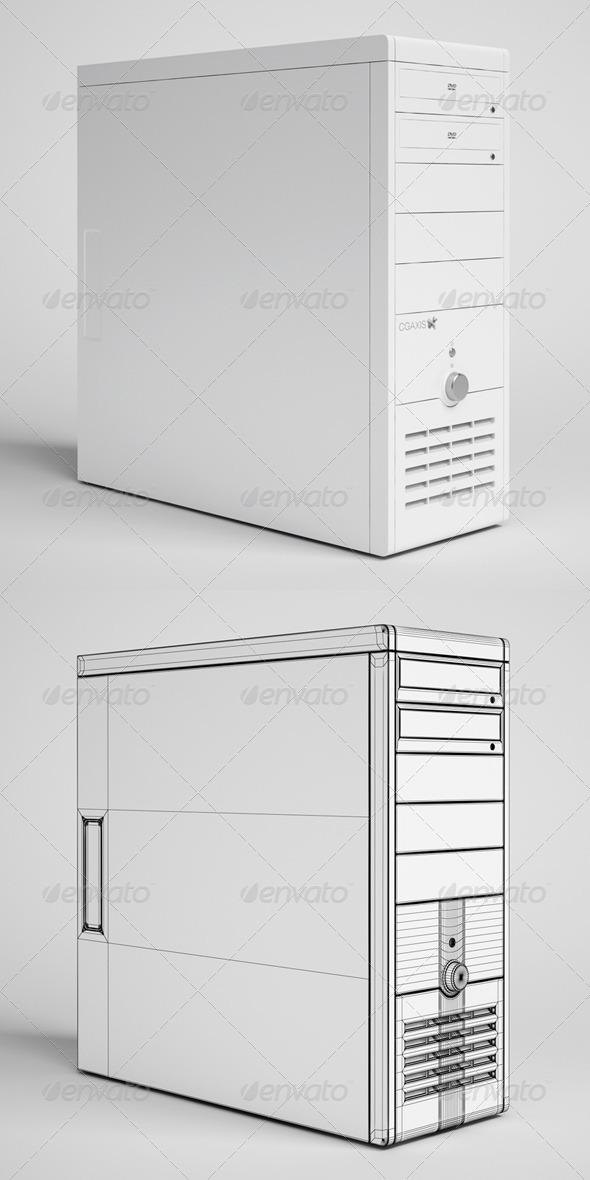 3DOcean CGAxis Desktop Computer Electronics 23 166346
