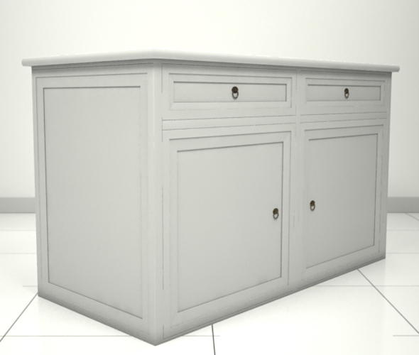 KitchenCabinetFree - 3DOcean Item for Sale