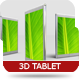 Real 3D Tablet Mock-up - GraphicRiver Item for Sale