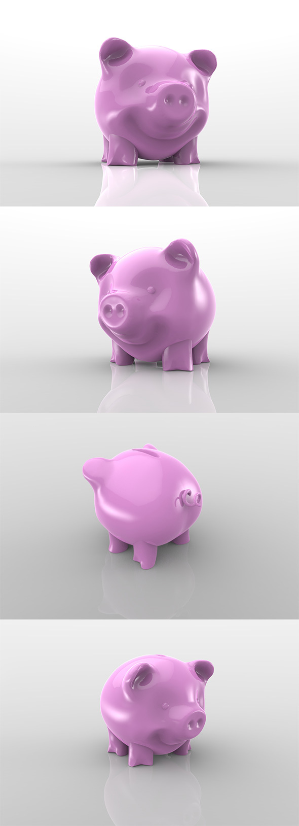 Piggy Bank - 3DOcean Item for Sale
