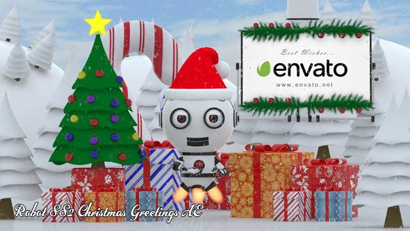 Robot SS2 - Christmas Greetings AE