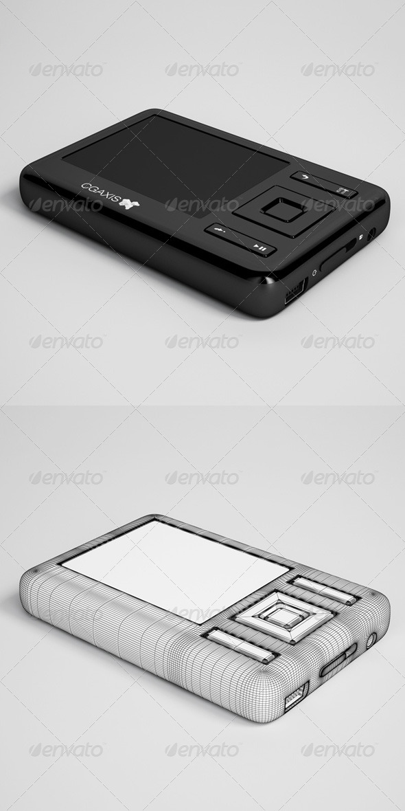 3DOcean CGAxis MP3 Player Electronic 30 166376