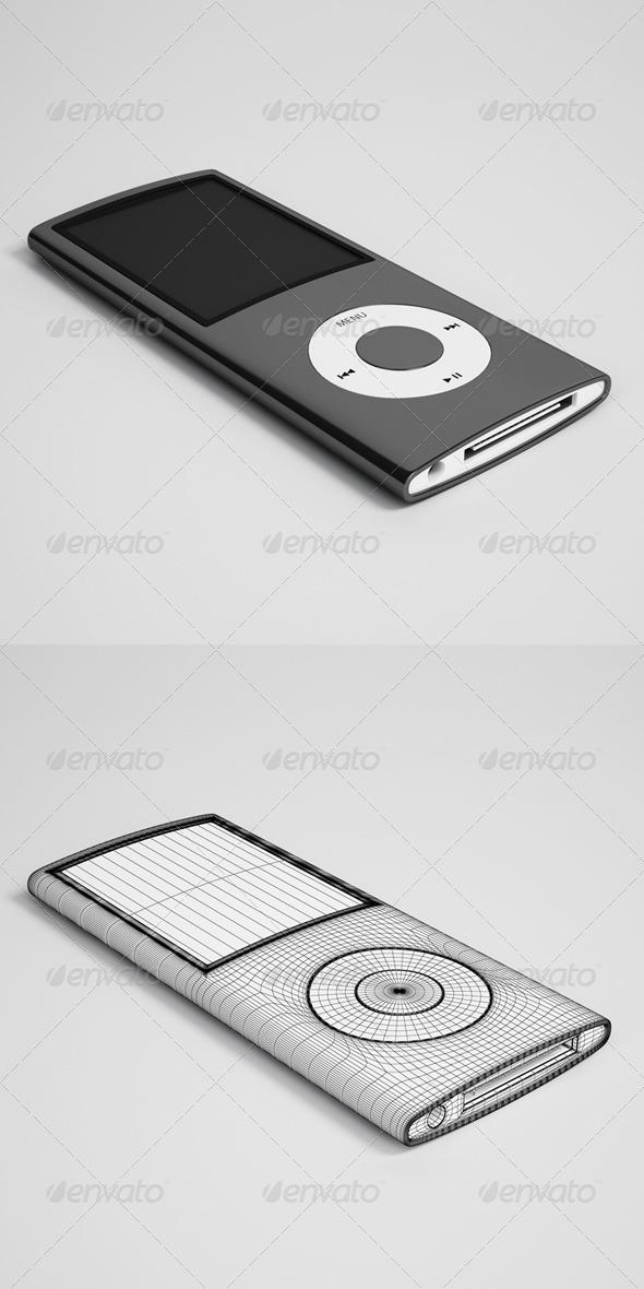 3DOcean CGAxis Ipod Electronics 31 166378