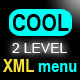 Cool 2 Level XML Menu  - ActiveDen Item for Sale
