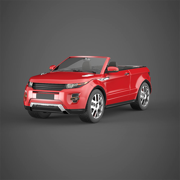 3DOcean Convertible sport car 14034336