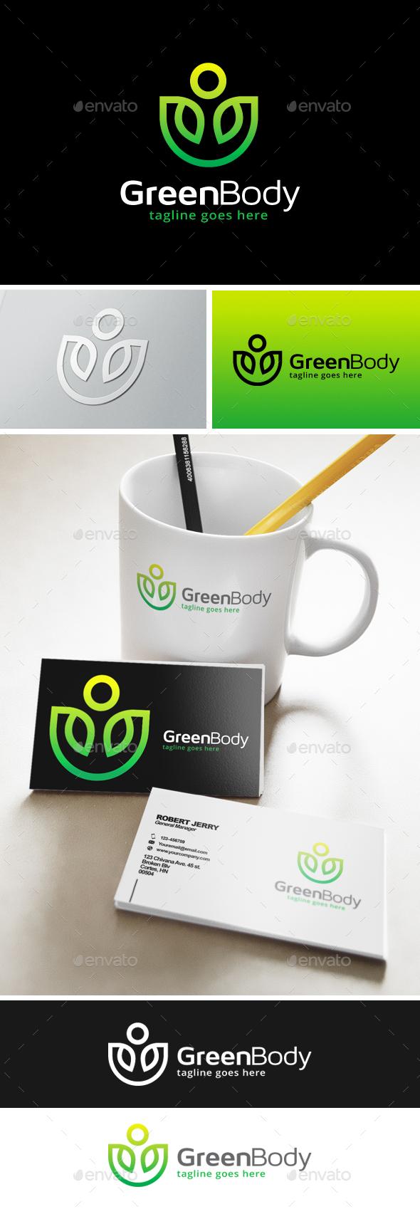 Green Body Fit Logo