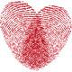 Fingerprint Heart - GraphicRiver Item for Sale