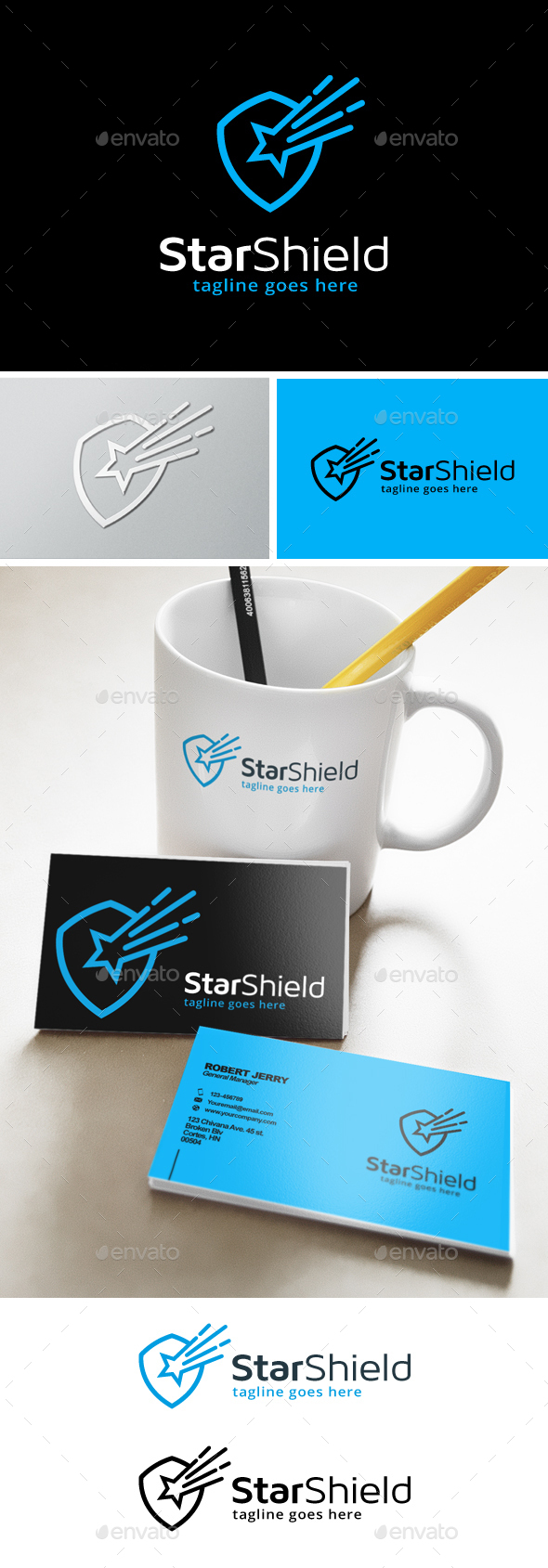 Star Shield Security Logo