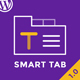 Smart Tabs - Drag & Drop Tab Shortcode Builder