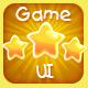 Casual Cute Game UI Asset