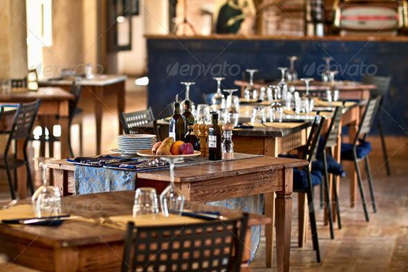 PhotoDune restaurant set 1421017