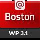 Boston - Corporate Parallax WordPress Theme - ThemeForest Item for Sale