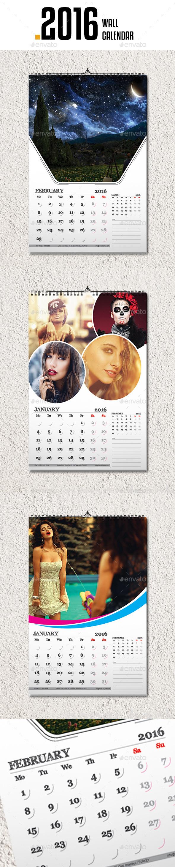 Wall Calendar 2016 v3