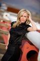 Beautiful confident blond fashion model on location - PhotoDune Item for Sale