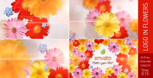Logo in Flowers