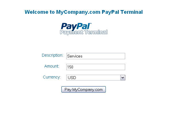 PayPal Payment Terminal - CodeCanyon Item for Sale