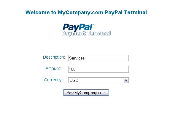 CodeCanyon PayPal Payment Terminal 47404