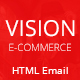 Vision e-Commerce Email Template - ThemeForest Item for Sale
