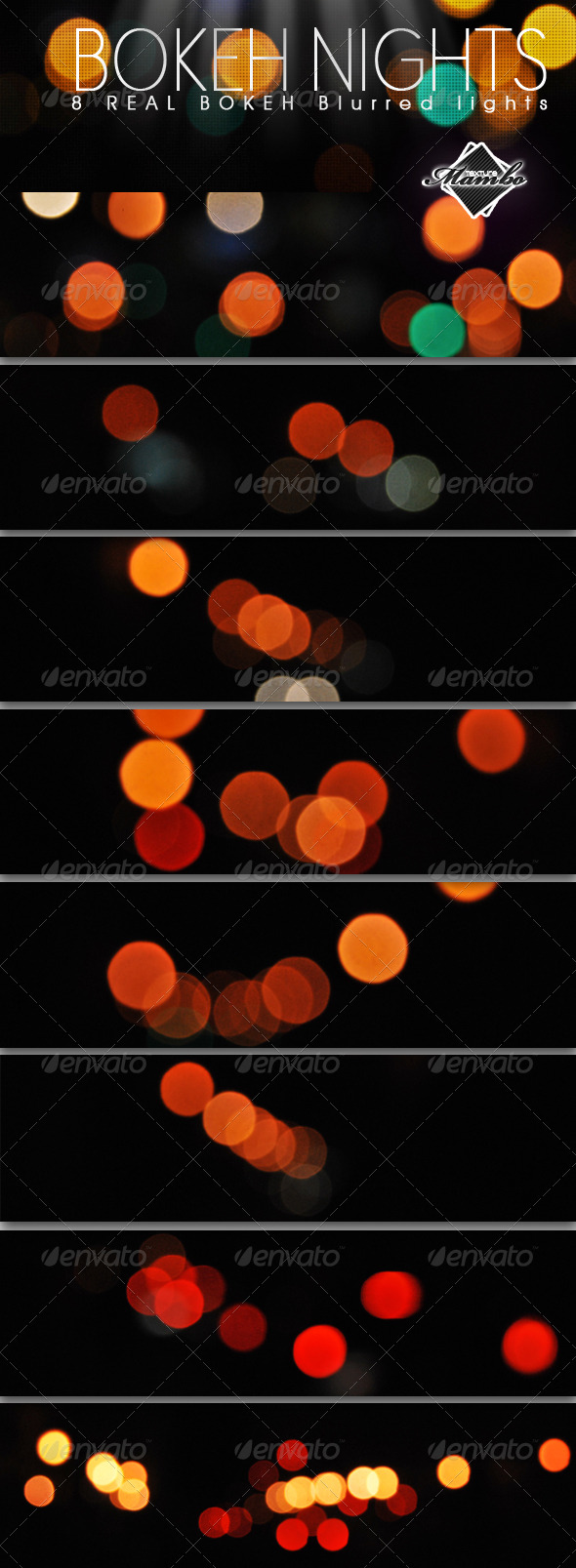 GraphicRiver Bokeh Nights Real blurred lights 166578