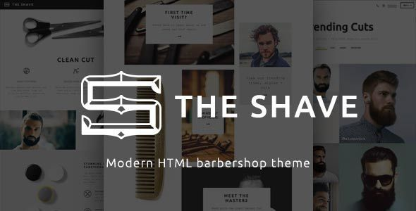 The Shave | BarberShop - Clean Cut HTML Template