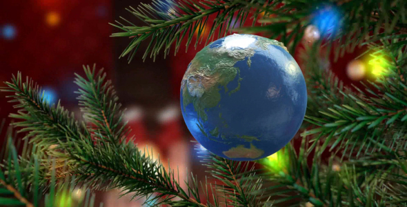 Christmas Earth Greeting
